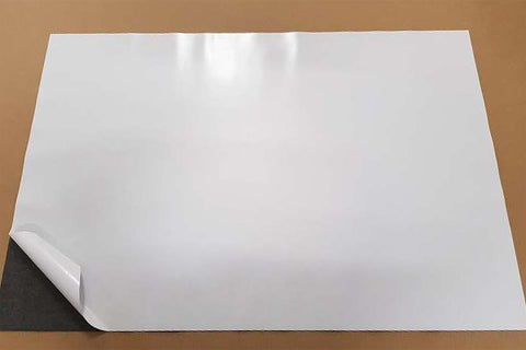 MagLite™ Self-Adhesive Faced Magnetic Sheets - ferrous walls