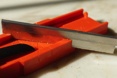 WriteTrims - Using a Fine Tooth blade to cut 45 degree