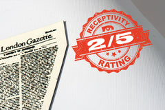 MAGPAINTABLE RECEPTIVITY RATING