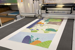 Forest Custom being Printed