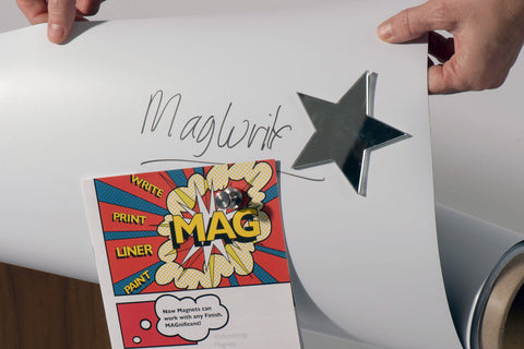 MagWrite™ Matt Ferrous Wallcovering - dry-erase, projector, magnets