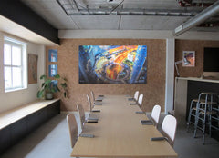 MagWrite™ Matt - Whiteboard Wallcovering in boardroom 3