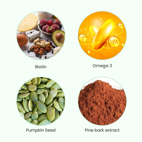 moloshe Hair Booster Capsules ingredients