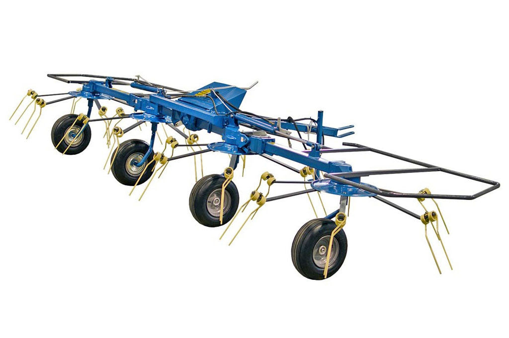 Ranch Rite 4 Rotor Hay Tedder 17 Ft Working Width - Free Shipping!!!