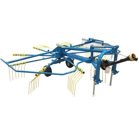 "Ranch Rite Hay Rake Rotary Windrower - 9 Arms, 10'6"" Working Width"