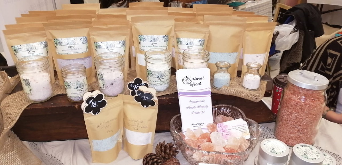 All Natural Himalayan Bath Salts