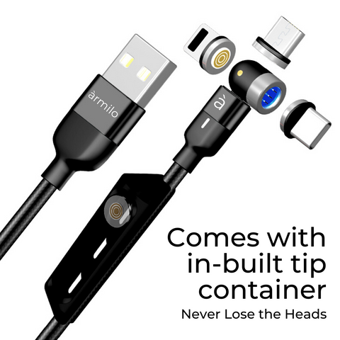 3 in 1 magnetic charging cable