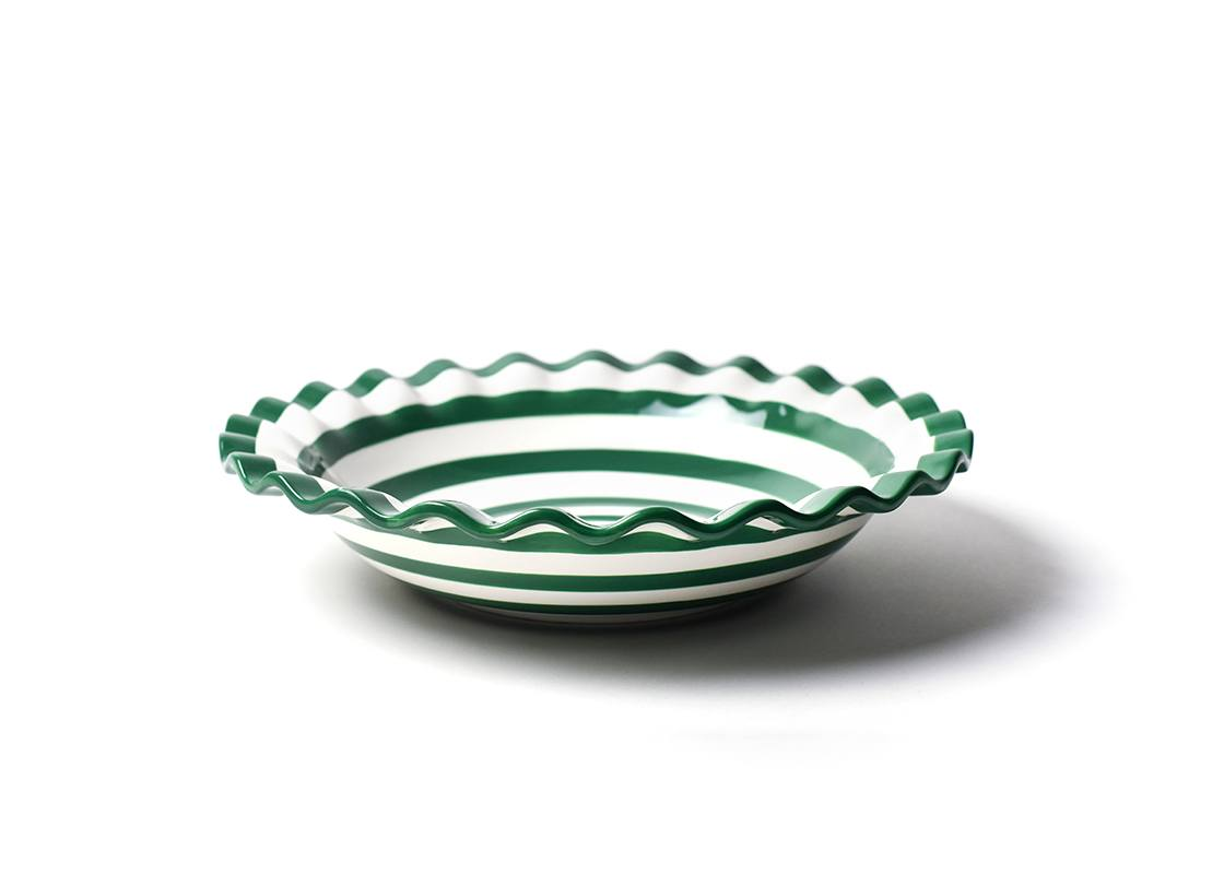 "Emerald Spot On Ruffle 13"" Best Bowl"