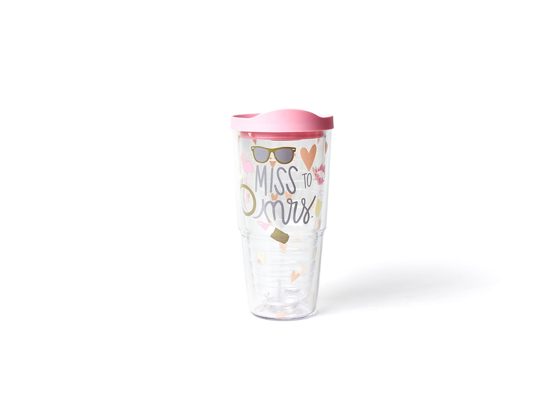 Miss to Mrs. 24oz Tervis Tumbler