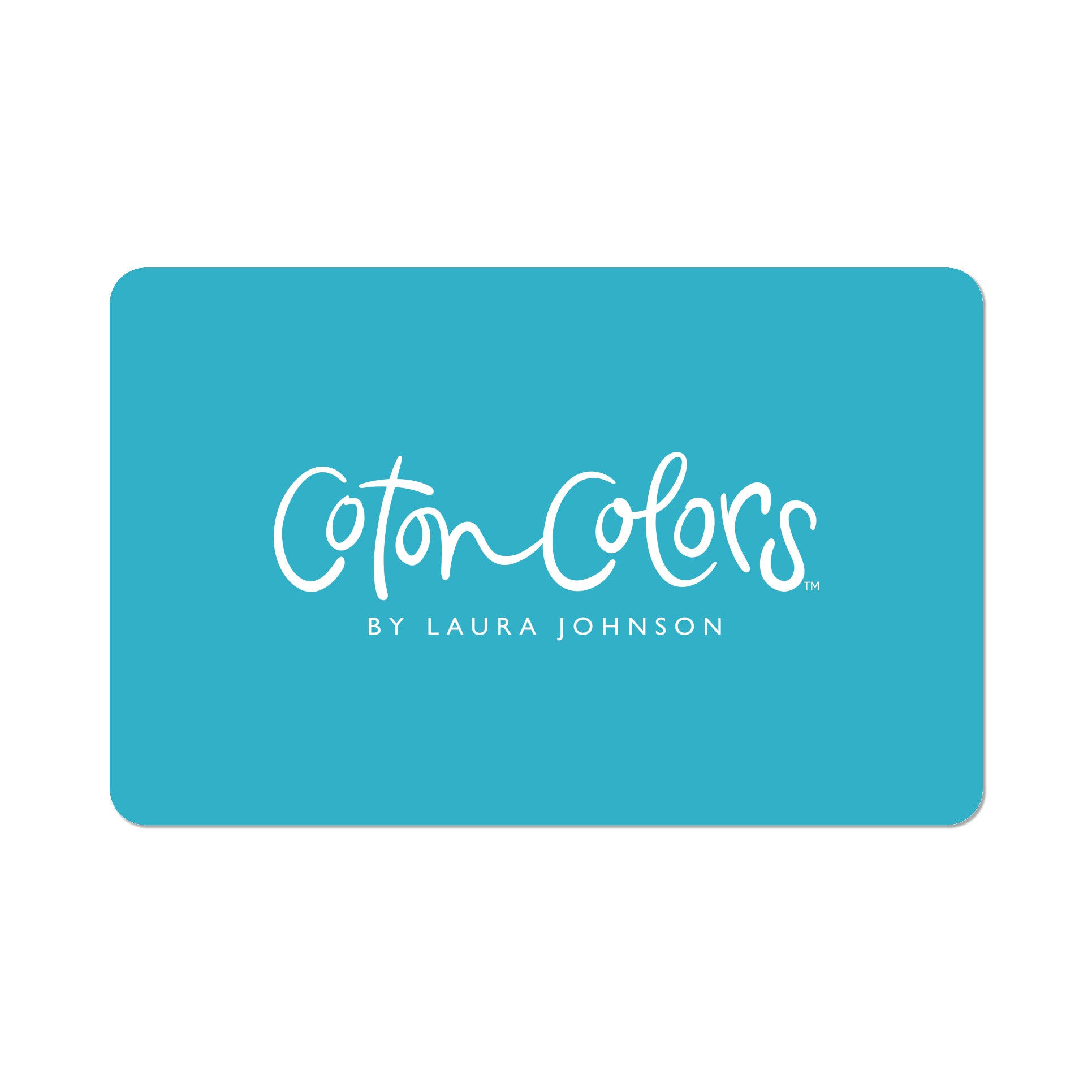 Coton Colors Gift card