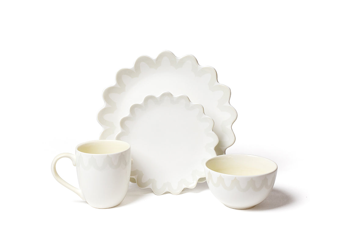Arabesque Trim 4 Piece Place Setting
