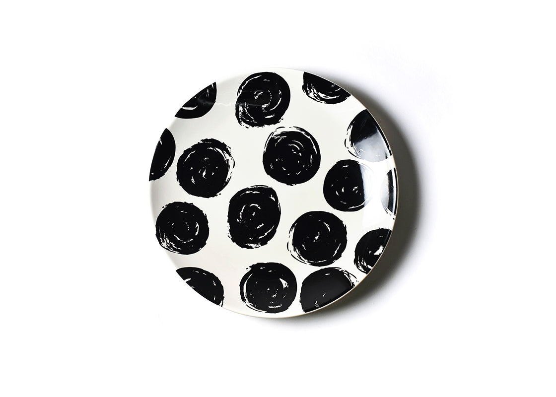 Brushed Dot Scoop Platter