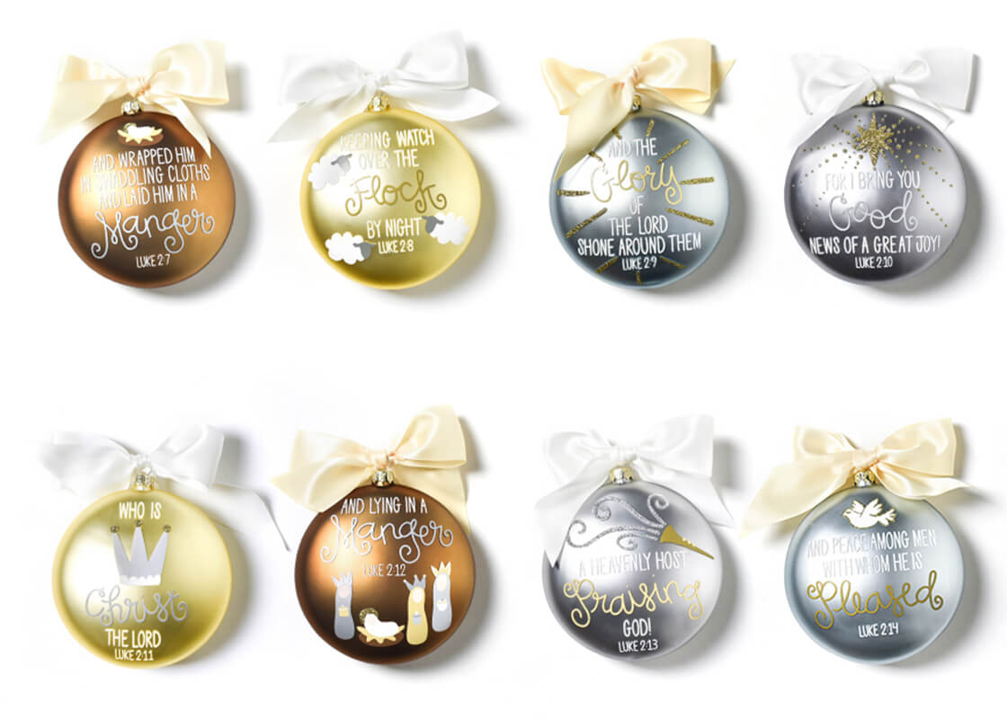 The Birth Of Christ Ornament Series, Set of 8