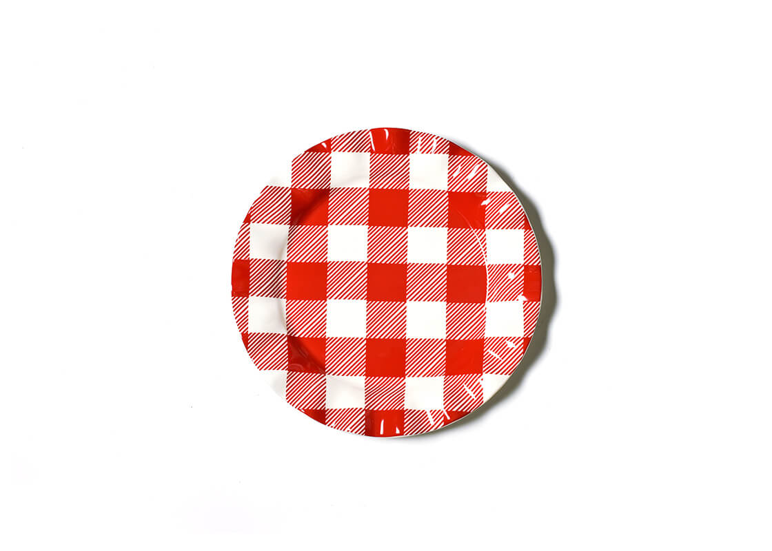 Buffalo Ruffle Dinner Plate