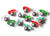 12 Days of Christmas Glass Ornaments, Set of 12