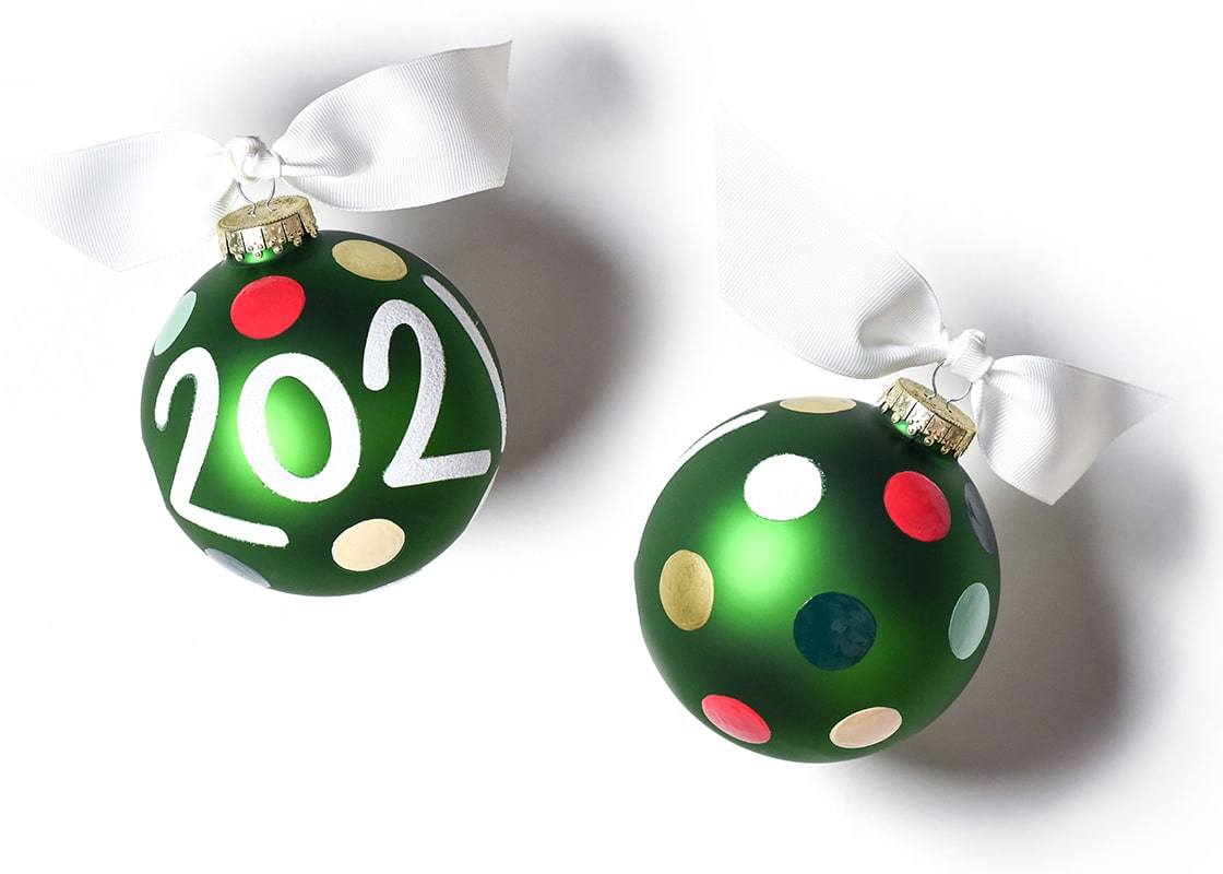 2021 Glass Ornament