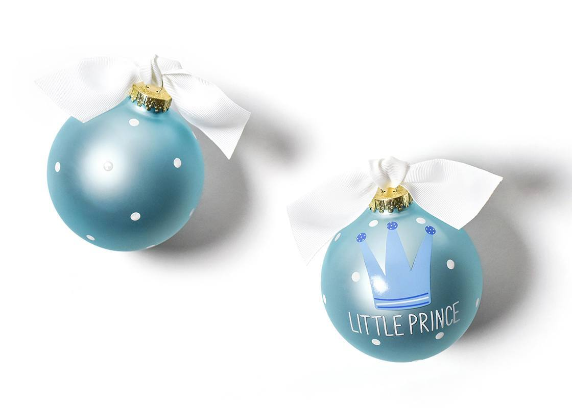 Little Prince Glass Ornament