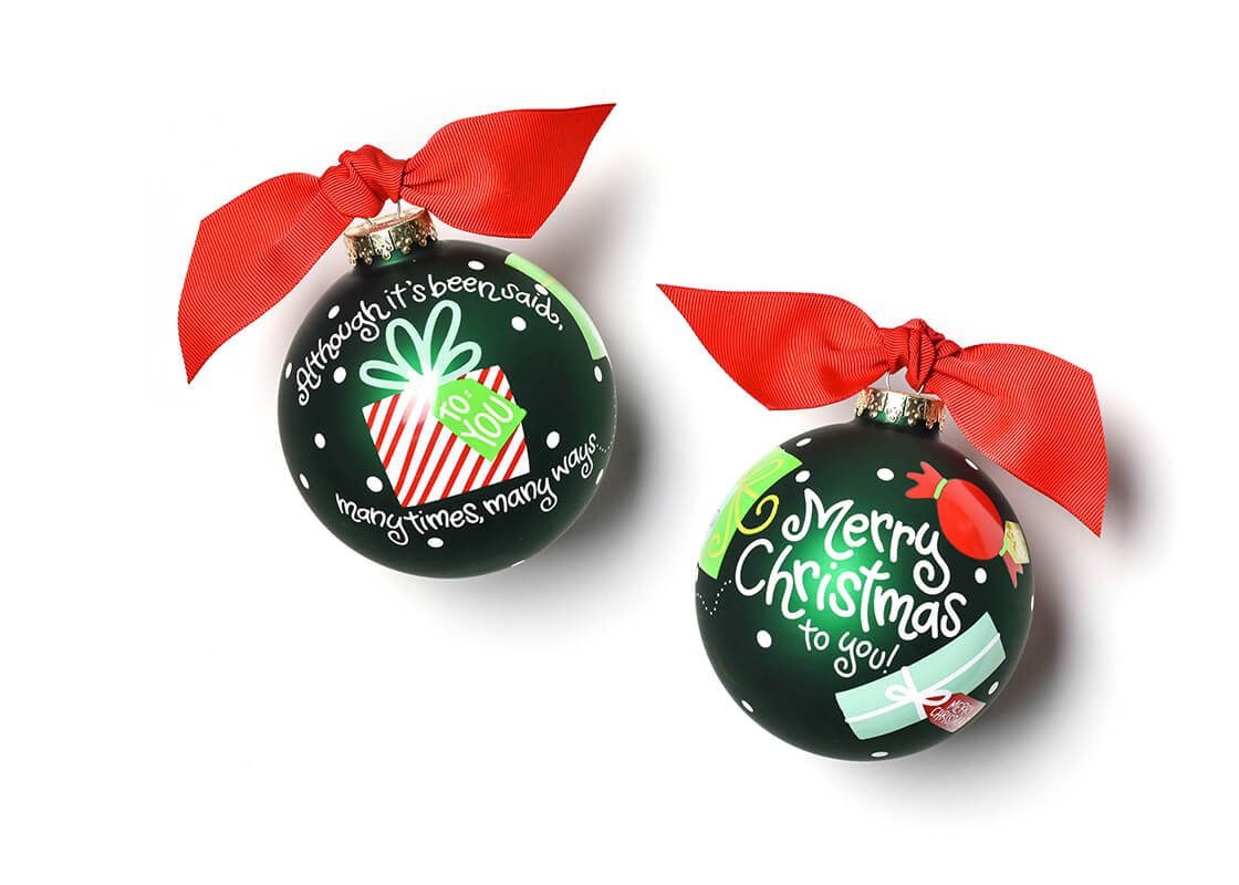 Many Ways Merry Christmas To You Ornament