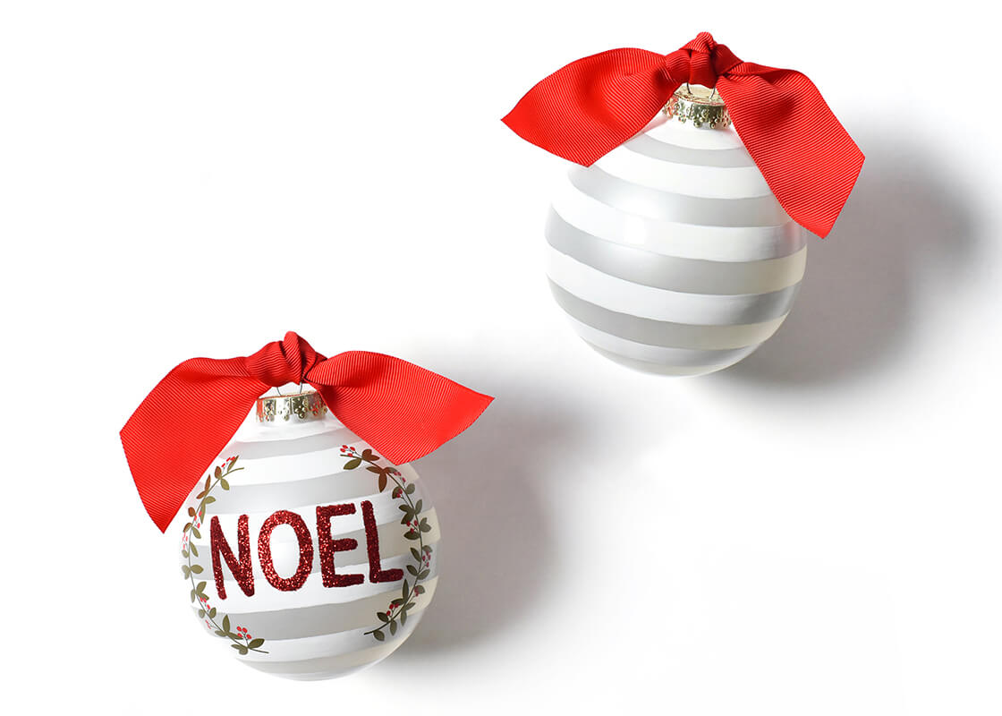 Noel Berry Glass Ornament