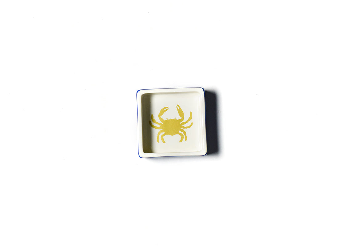Crab Square Trinket Bowl