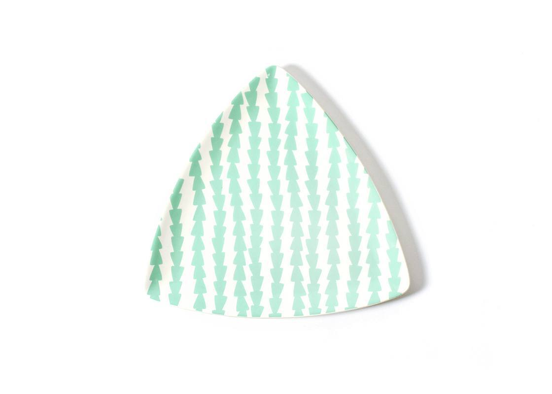 Mint Dart Triangle Platter