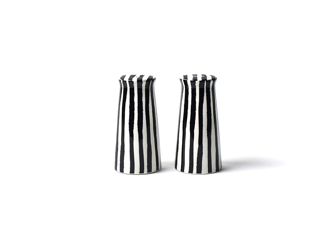 Deco Pedestal Salt and Pepper Shaker Set