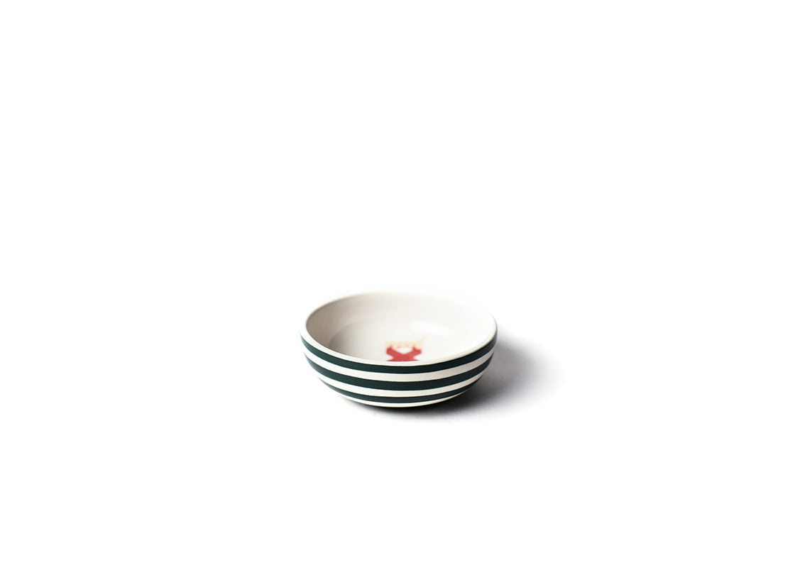 Stockings Round Dipping Bowl