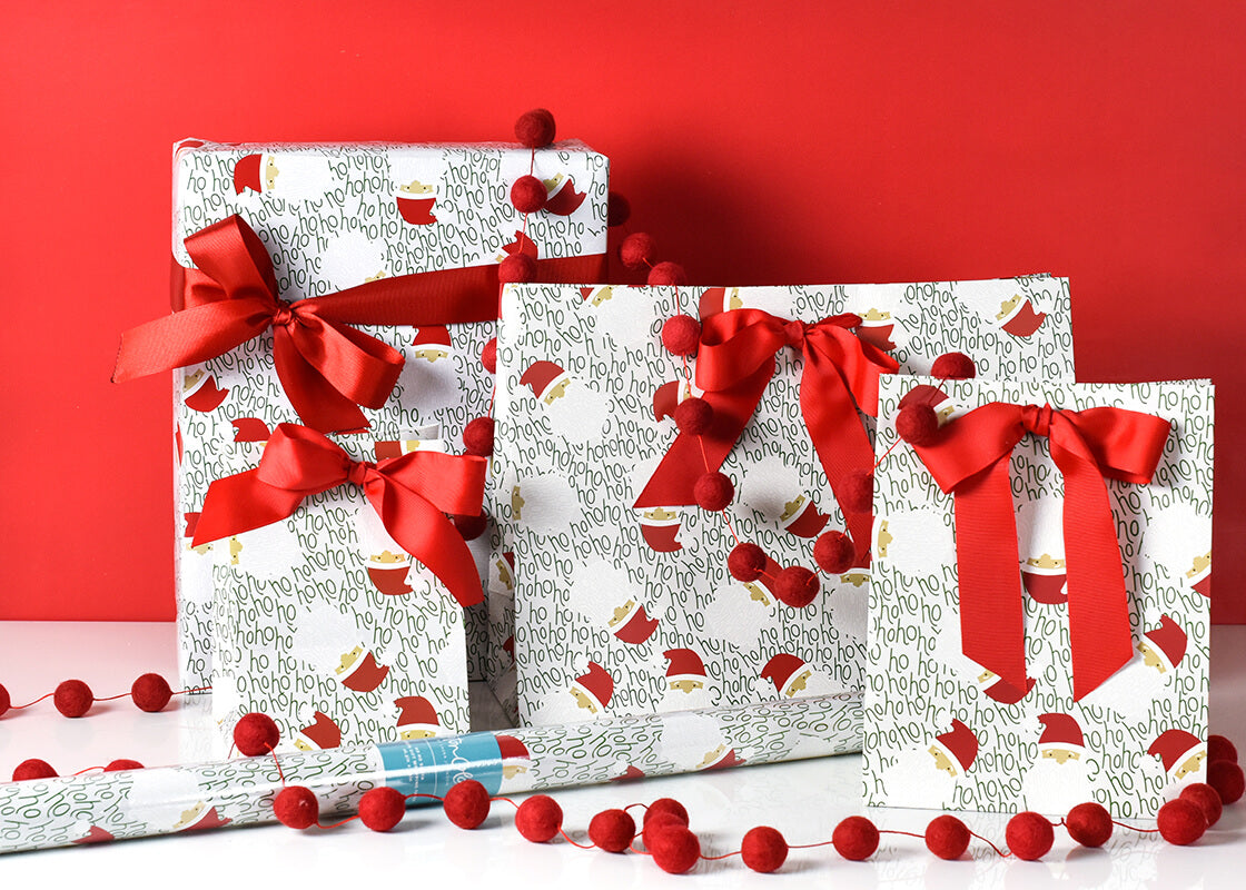 Ho Ho Santa Medium Gift Bag