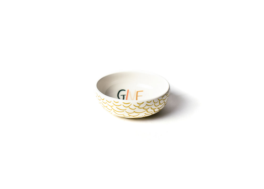 Give Thanks Round Dipping Bowl