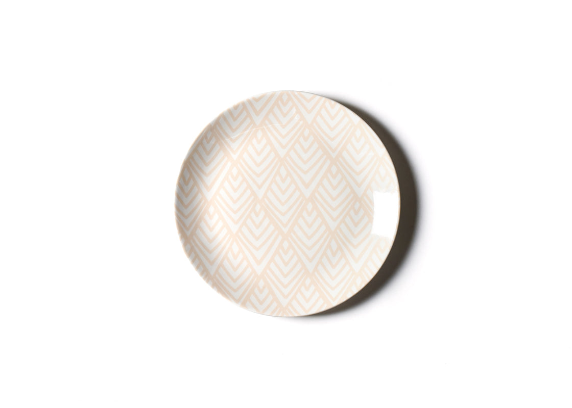 Blush Layered Diamond Dinner Plate