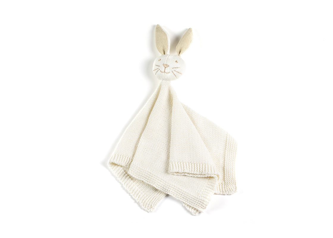Ecru Bunny Knitted Lovey