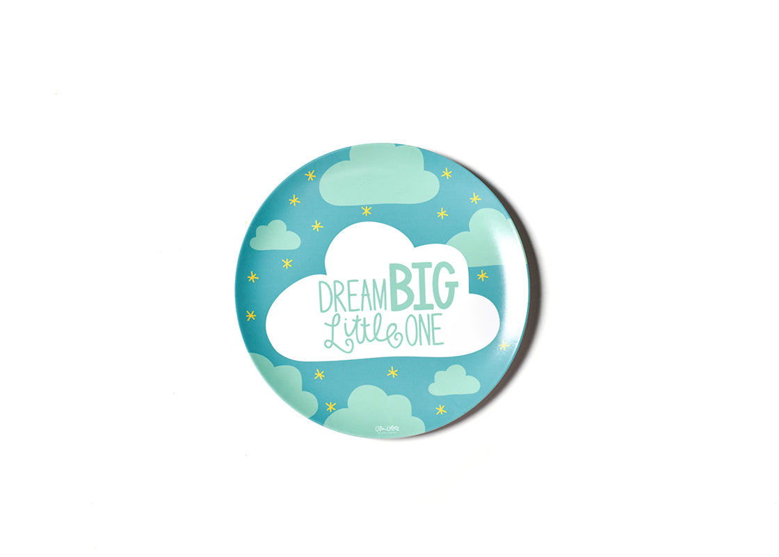 Dream Big Melamine Dinner Plate
