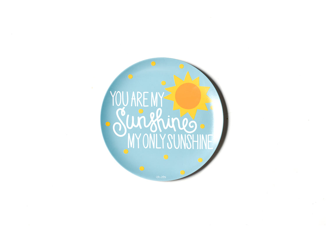 You Are My Sunshine Melamine Dinner Plate