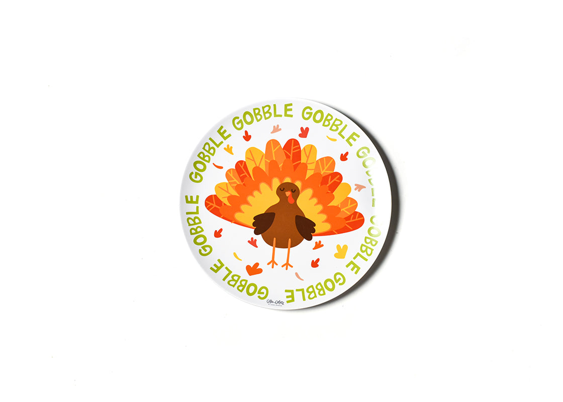 Turkey Melamine Dinner Plate