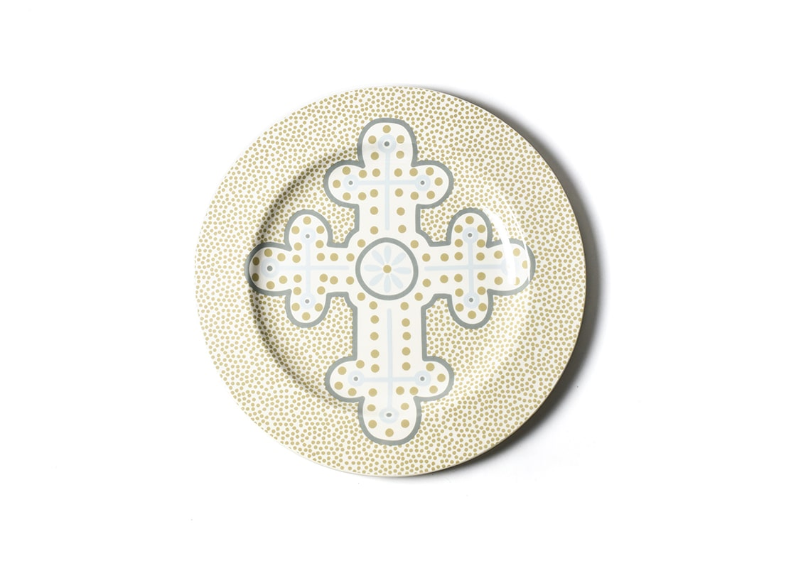 Cobble Neutral Cross Platter