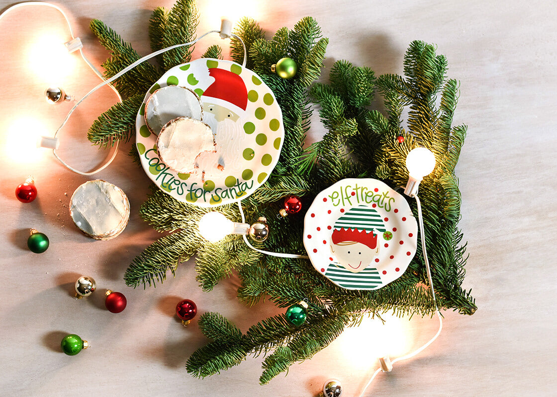 North Pole Elf Treats Plate