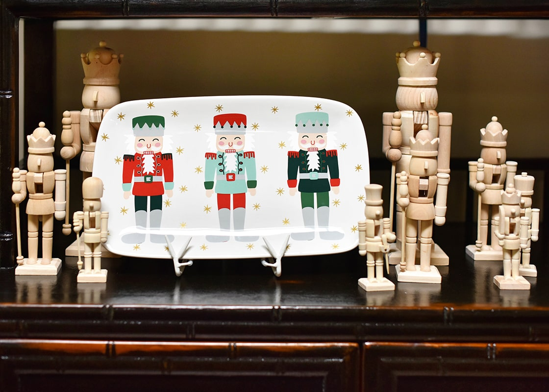 Nutcracker Rectangle Platter
