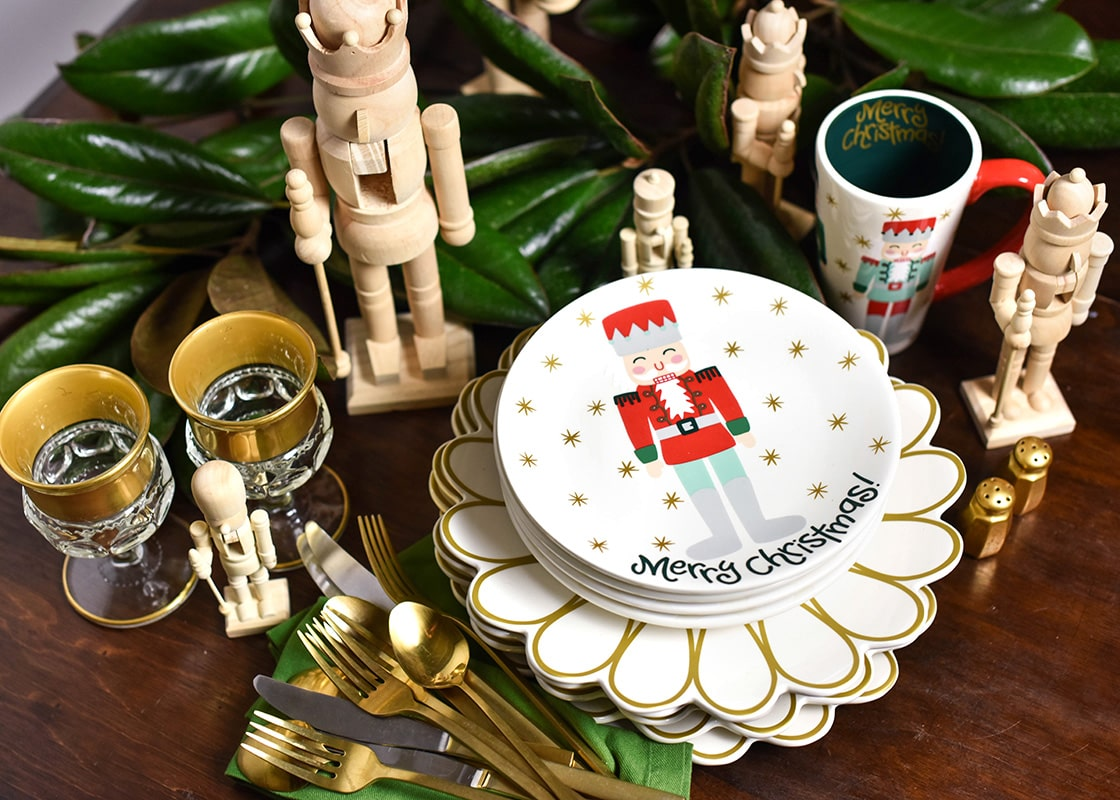 Nutcracker Salad Plate