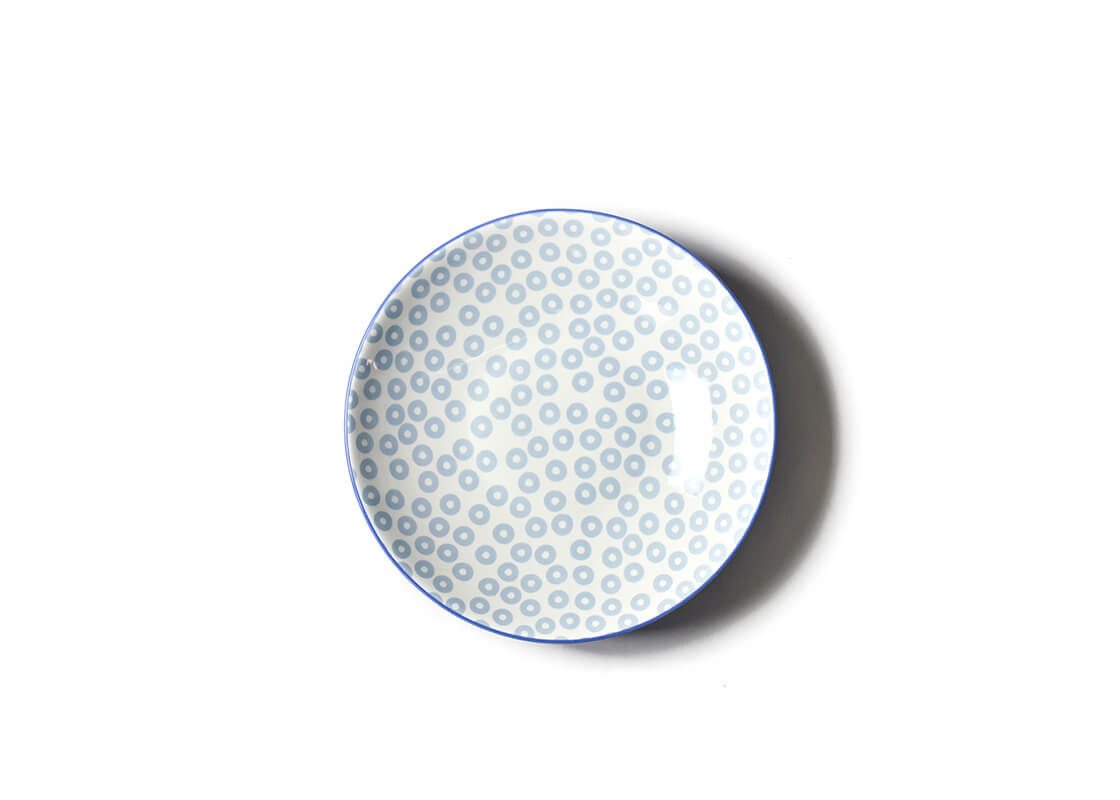 Iris Blue Pip Small Pasta Bowl