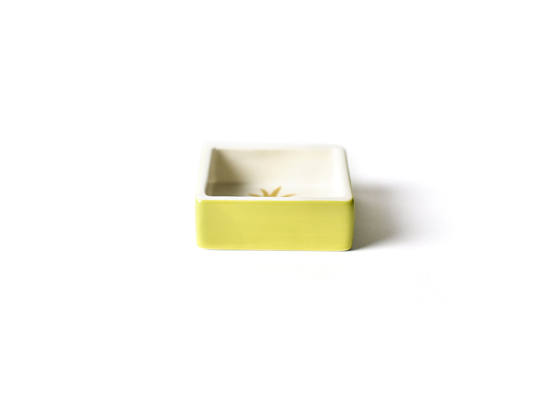 Pineapple Square Trinket Bowl