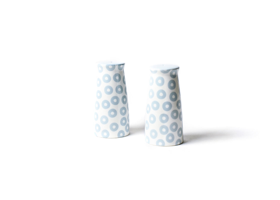 Wedgewood Pip Pedestal Salt and Pepper Shakers Set