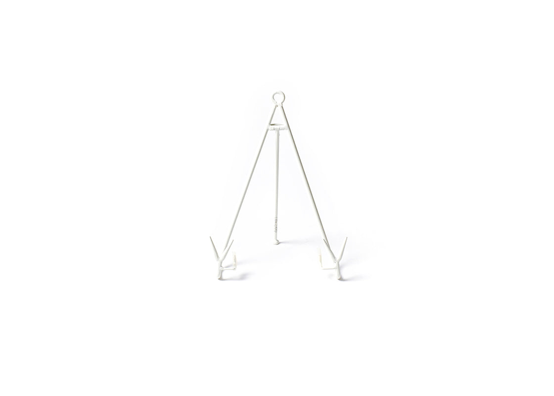 White Large Flare Plate Stand