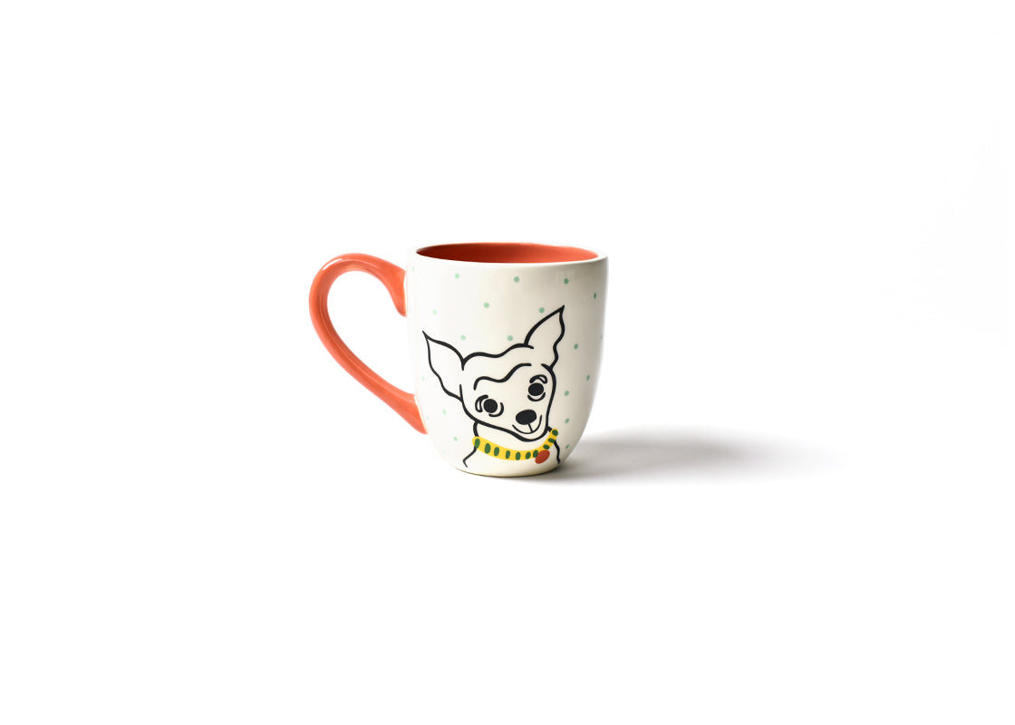 Pet Portrait Mug - Pointy