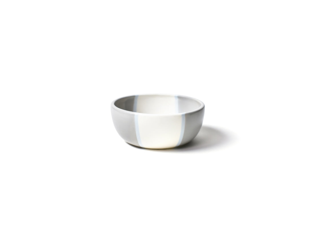 Stone Color Block Small Dog Bowl