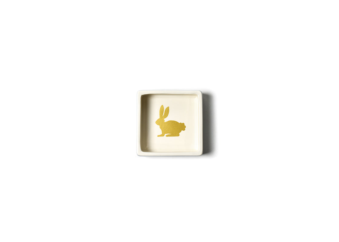 Smoke Rabbit Square Trinket Bowl