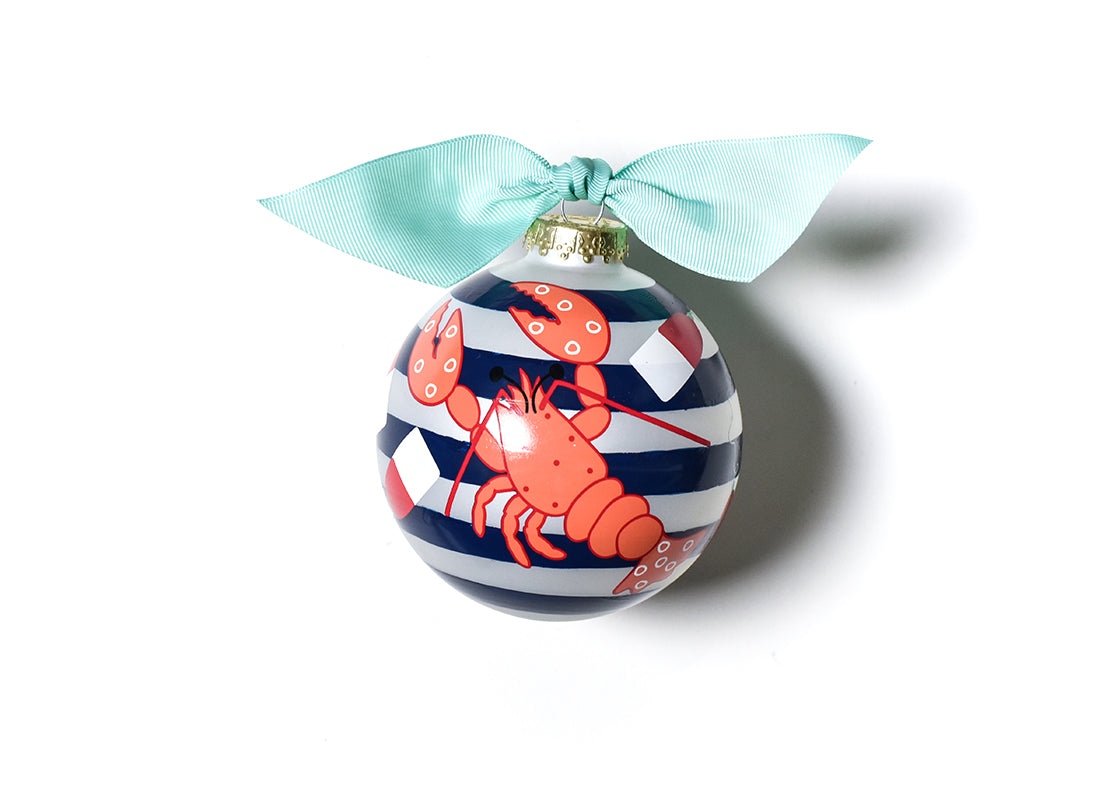 Lobster Glass Ornament