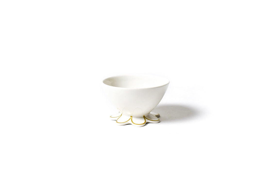 Gold Scallop Small Bowl