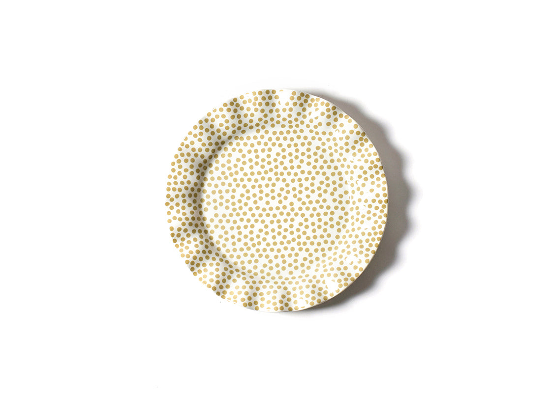 Cobble Small Dot Ruffle Dinner Plate