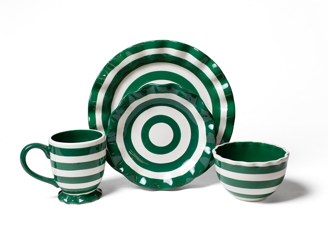 Spot On Emerald 4 Piece Place Setting