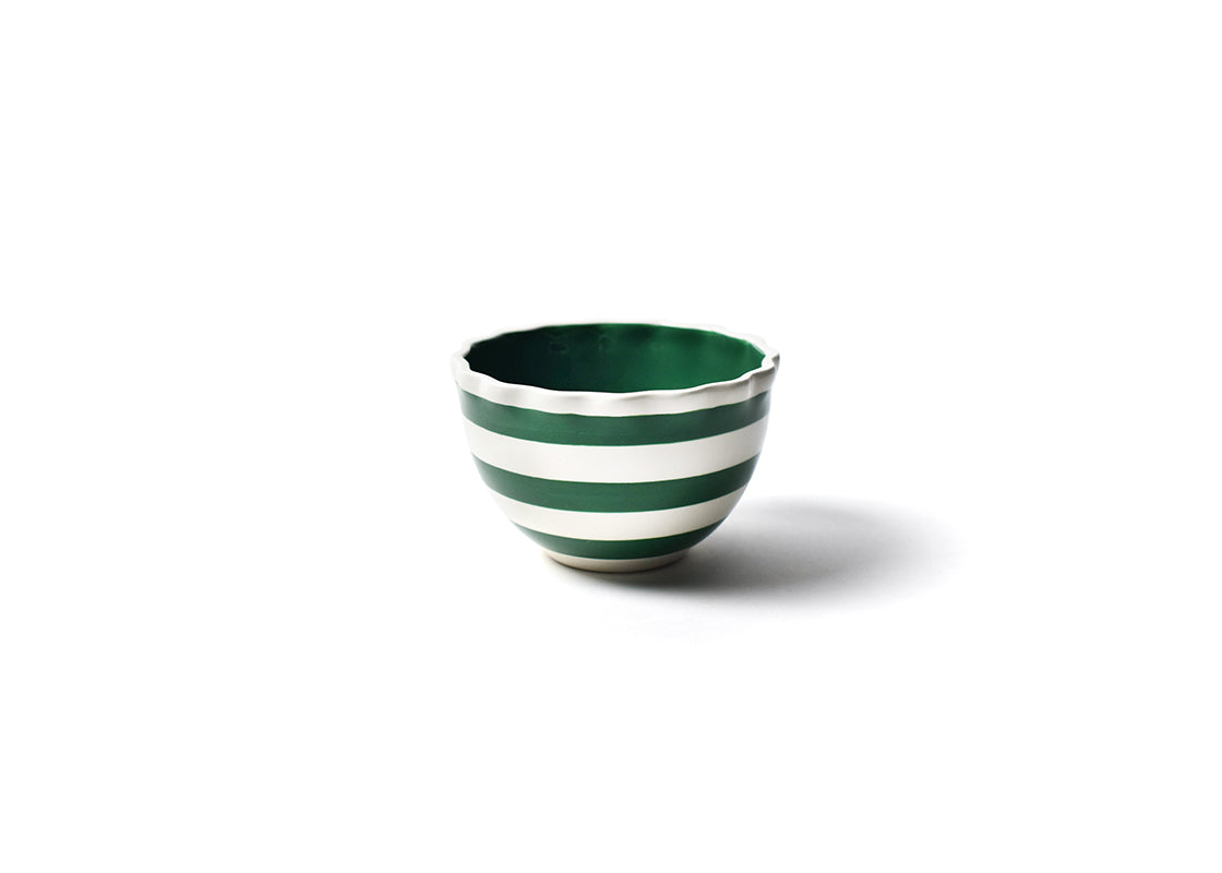 Emerald Spot On Ruffle Small Bowl